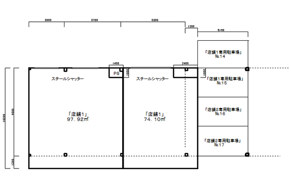 JR南武線「中野島」駅徒歩11分オートロック・レーベンシュロス生田 1階店舗1号室 新規募集致します!!